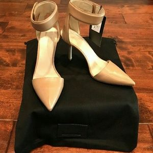 Alexander Wang Nude Leather Cuff Heels